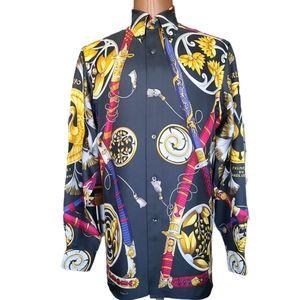 Daïmyo Princes du Soleil Levant Silk Shirt